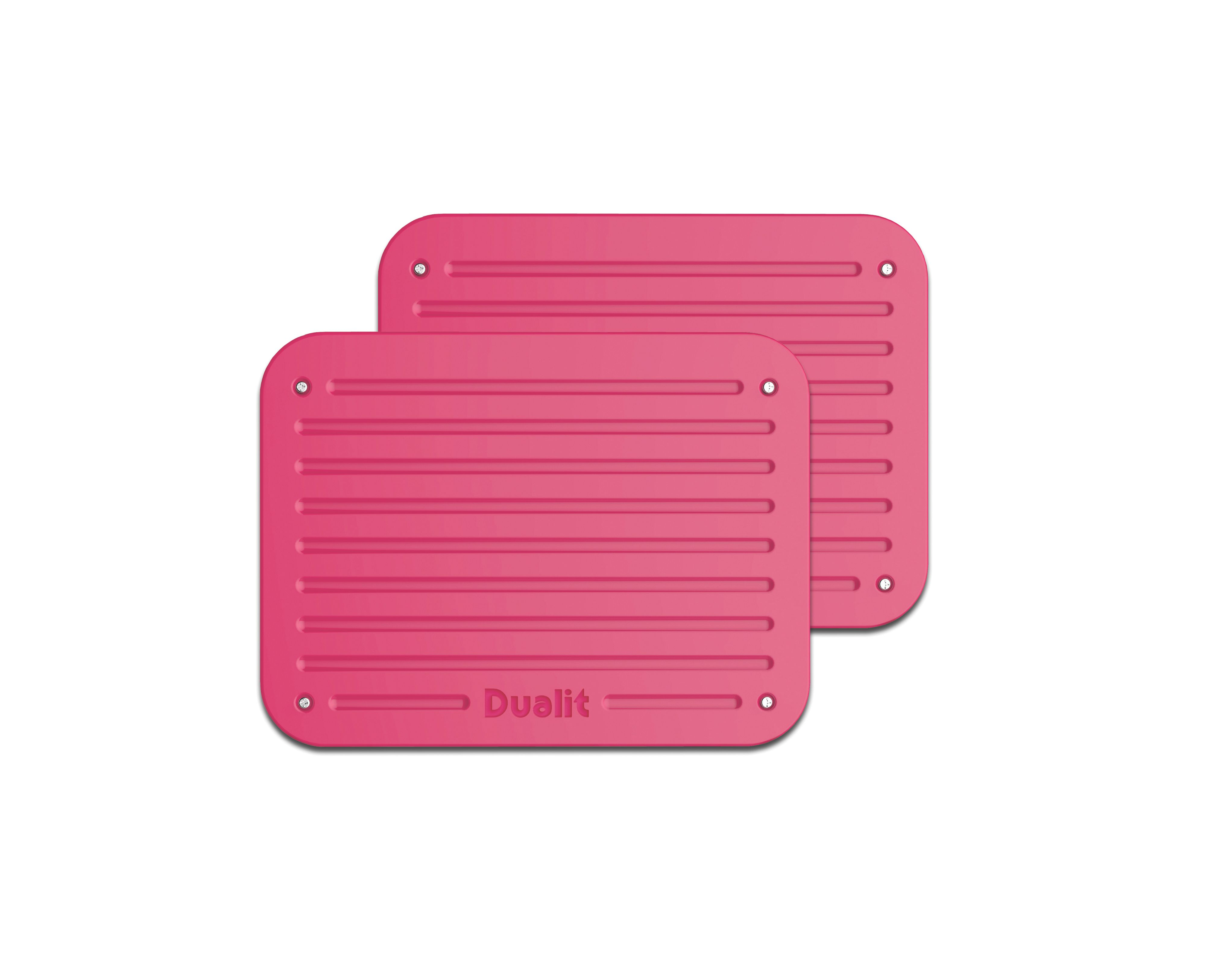 Chili pink Architect toaster panel set