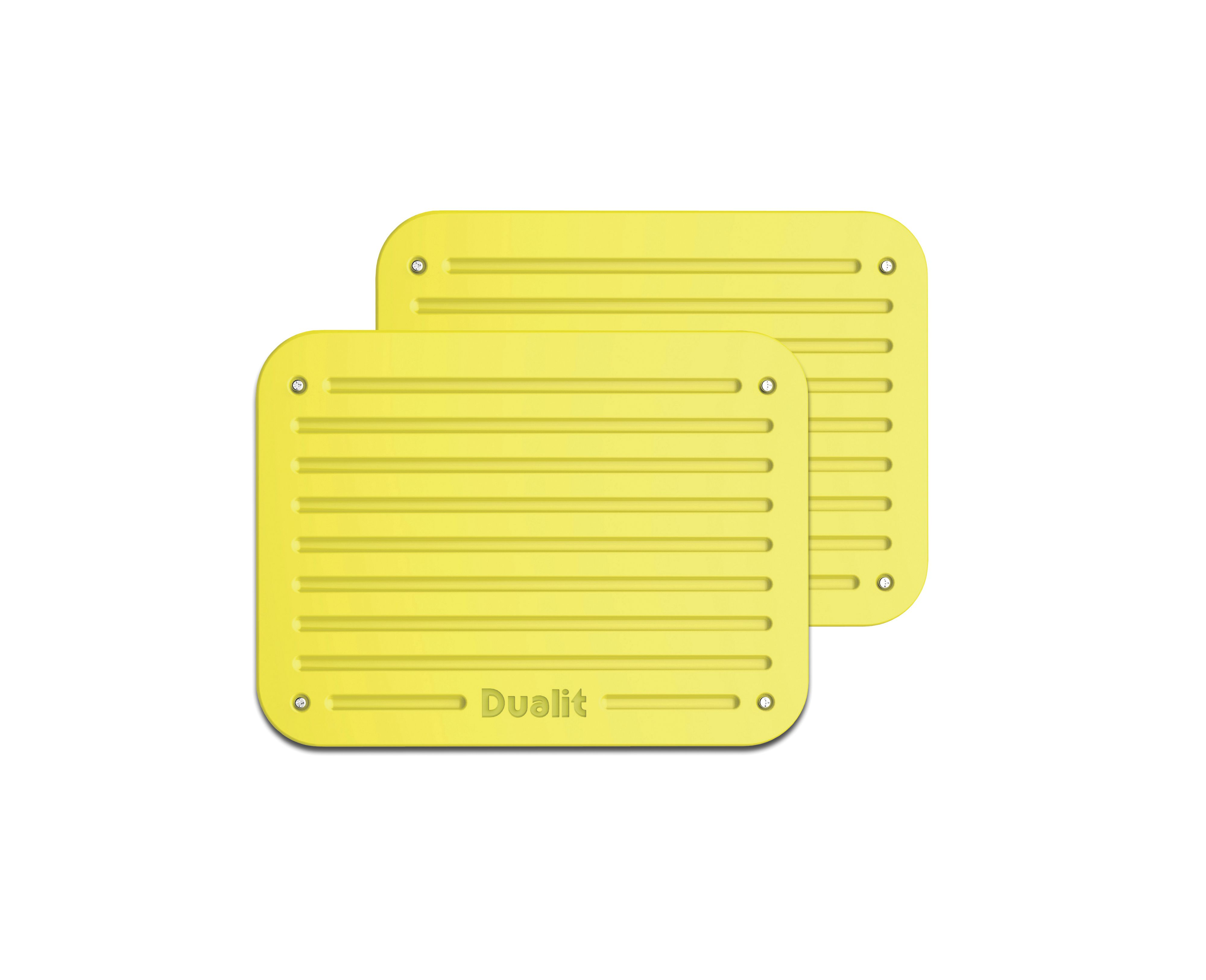 Citrus yellow Architect toaster panel set