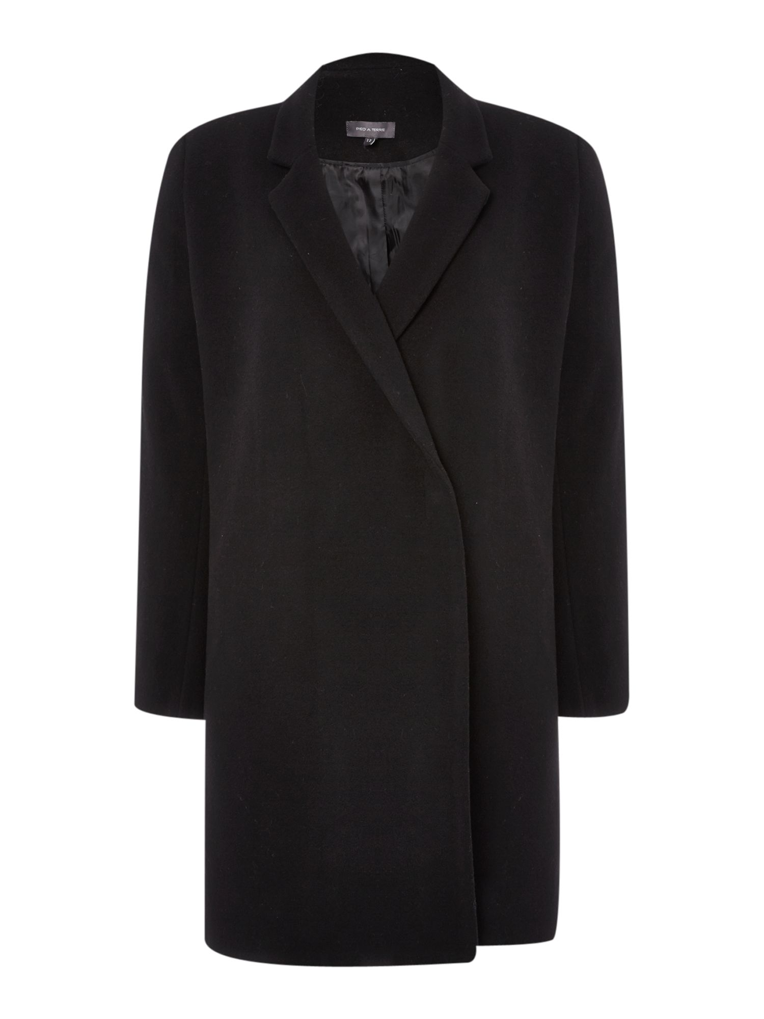 Mannish Wool Coat