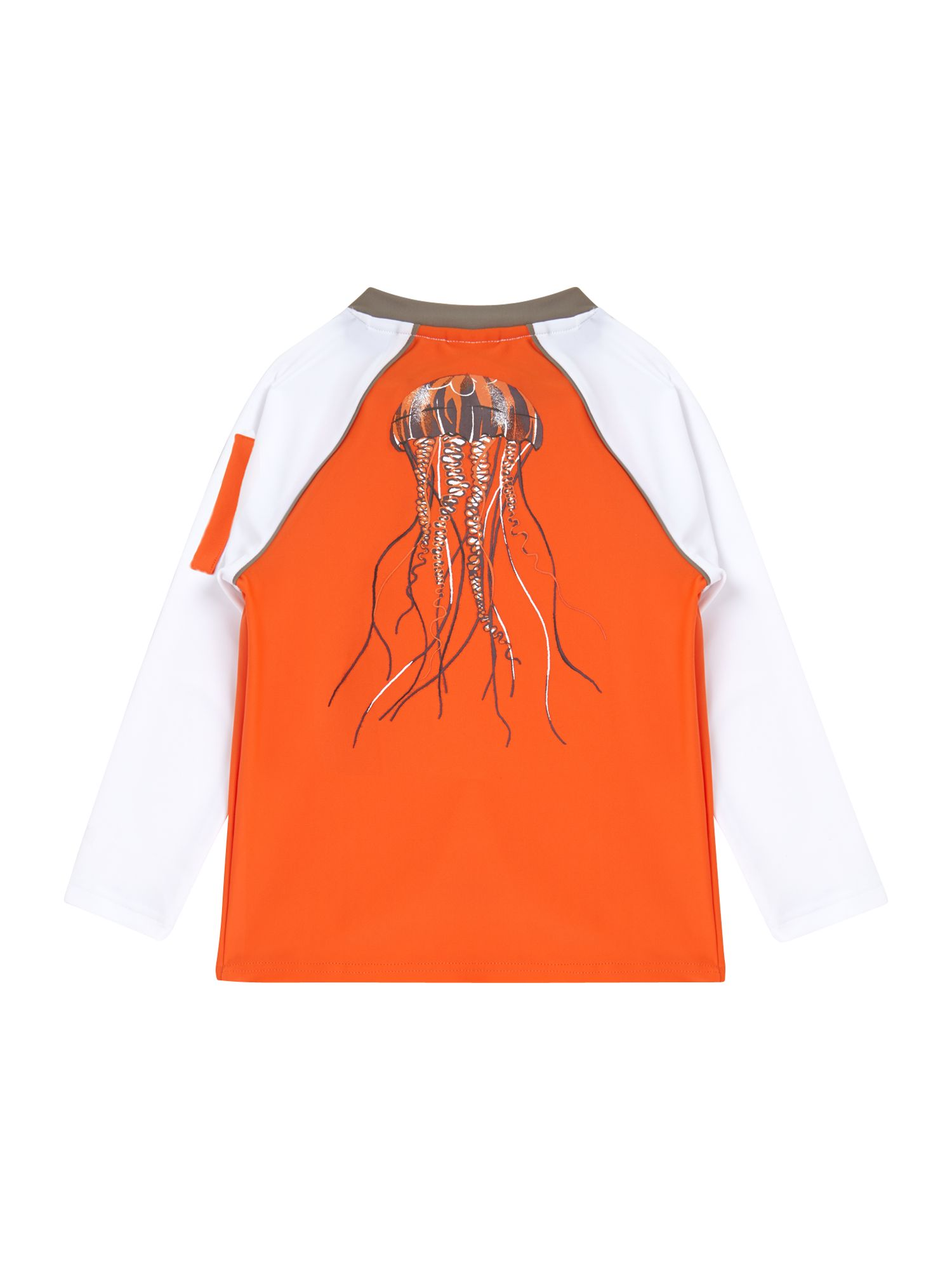 Boy`s jellyfish rash vest