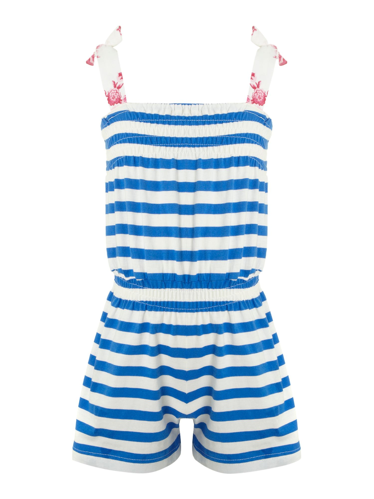 Girl`s stripe playsuit