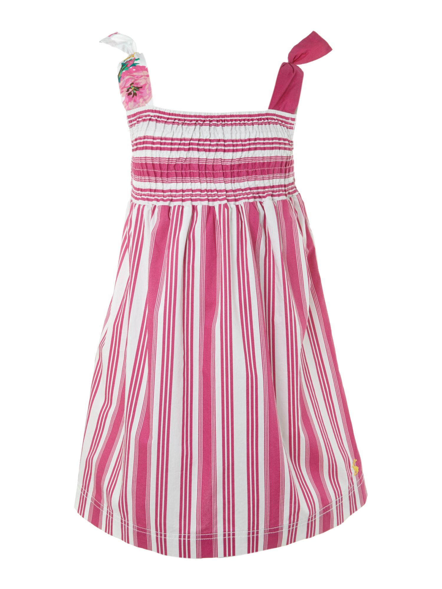 Girl`s stripe beach dress
