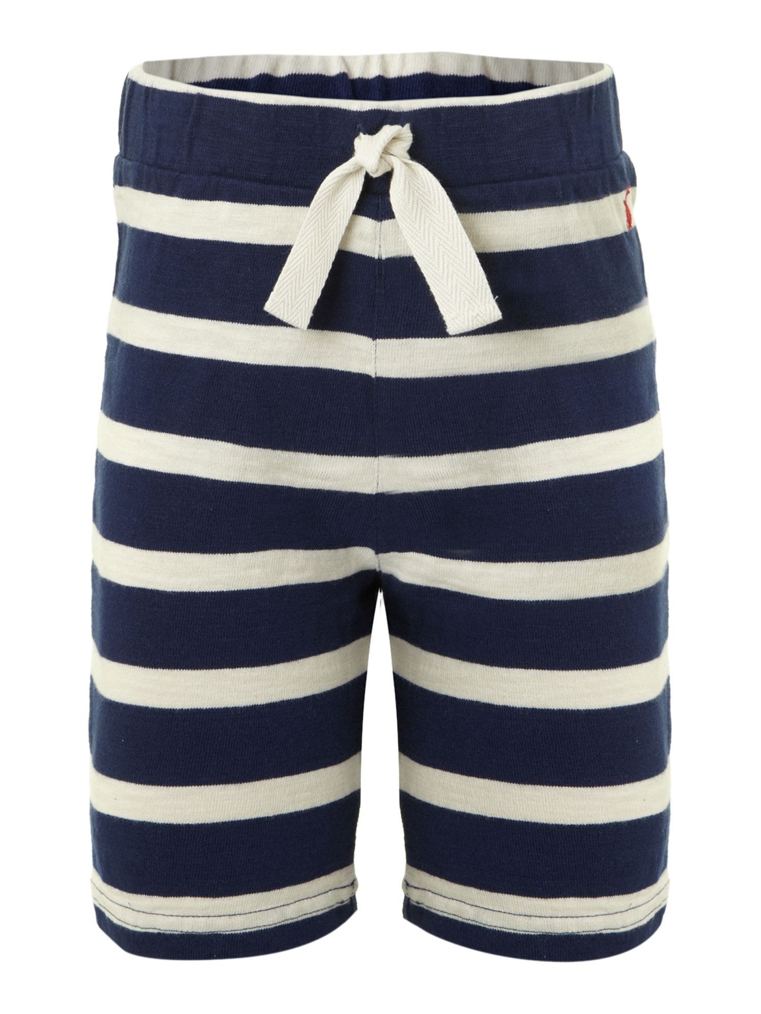 Boy`s jersey stripe shorts