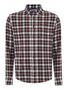 Penvale small checked shirt