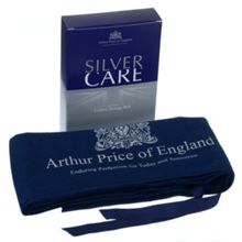 Arthur Price Cutlery roll holding 12 pieces of cutlery