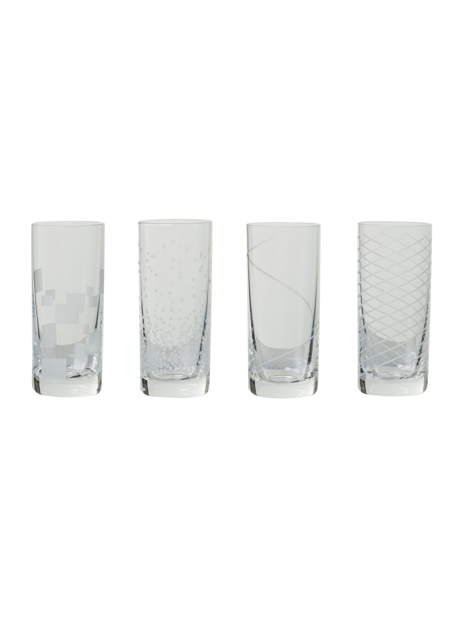 Shot glasses, set of 4