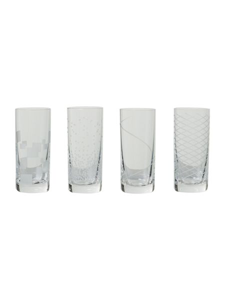 Linea Shot glasses, set of 4