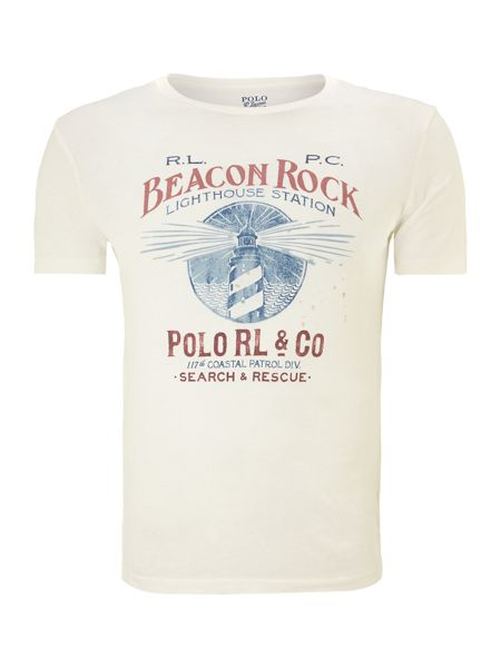 Polo Ralph Lauren Jersey beacon print t-shirt