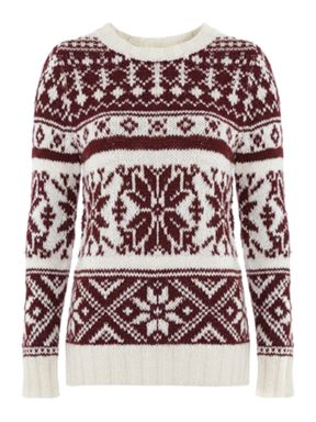 Libea Weekend Snowflake Jumper