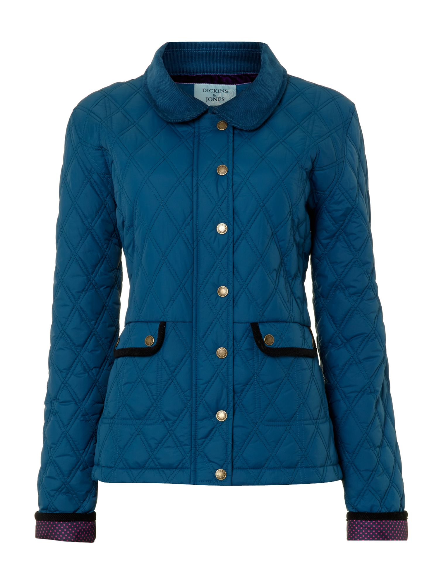 Ladies hardwick quilted jacket