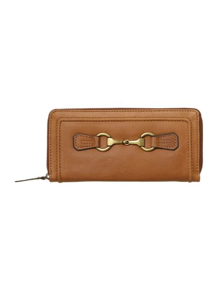 Linea Weekend Snaffle zip round purse