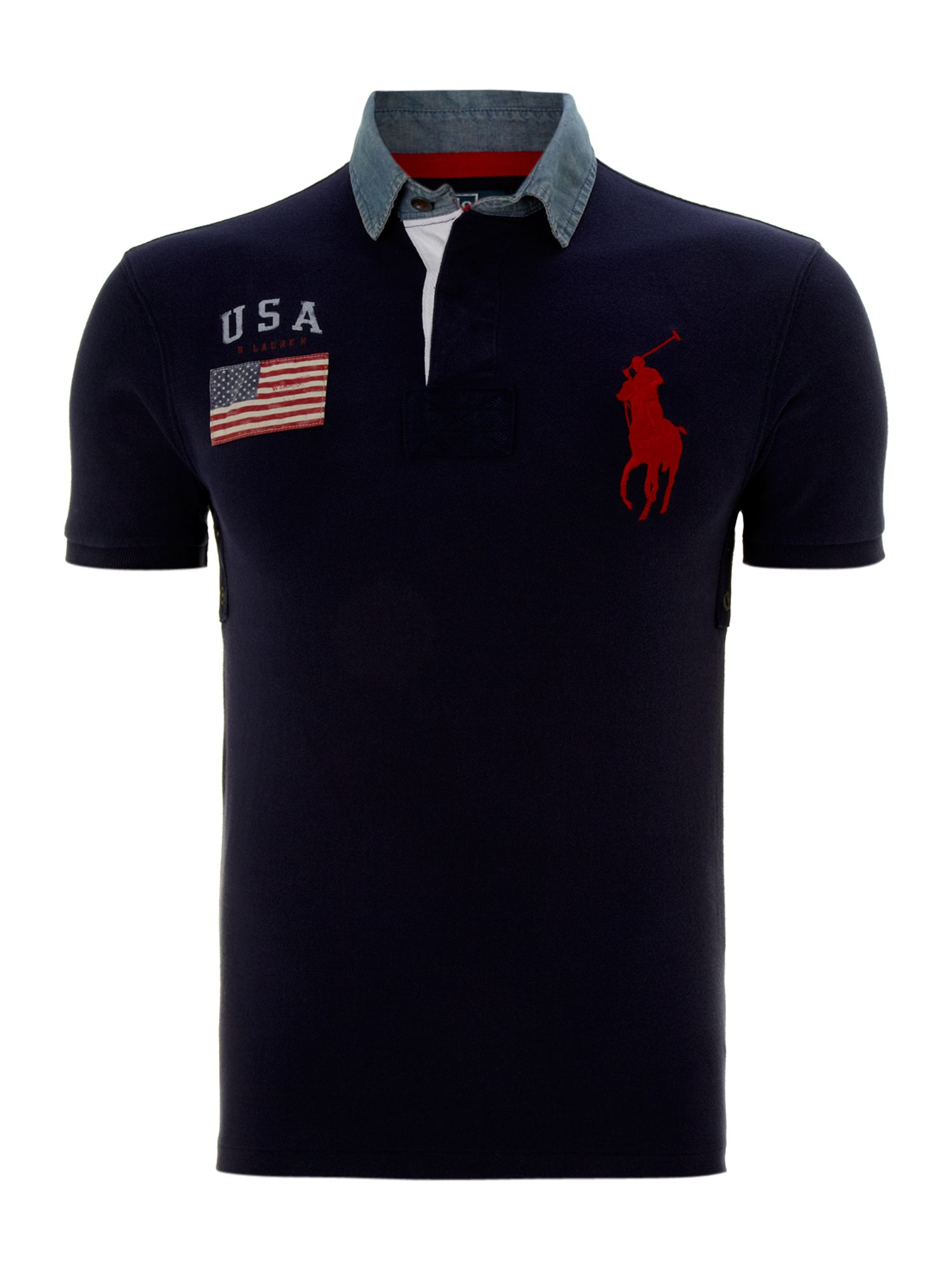 Classic mesh slim fit polo