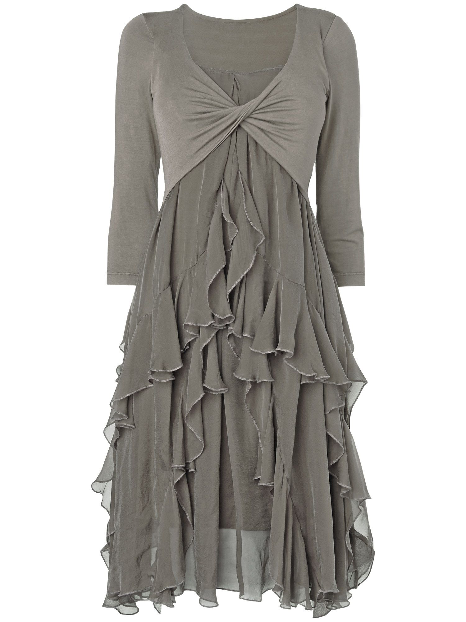 Kells silk jersey dress