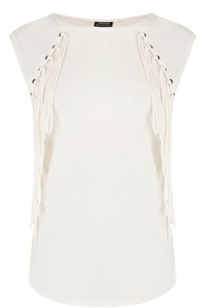 Warehouse Fringe Detail Top