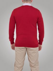 Raging Bull Pima V-Neck Sweater