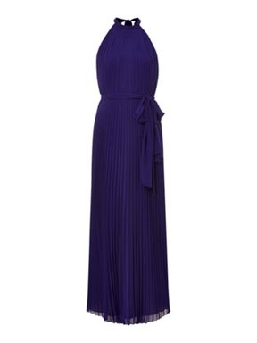 Biba Pleated Maxi Dress