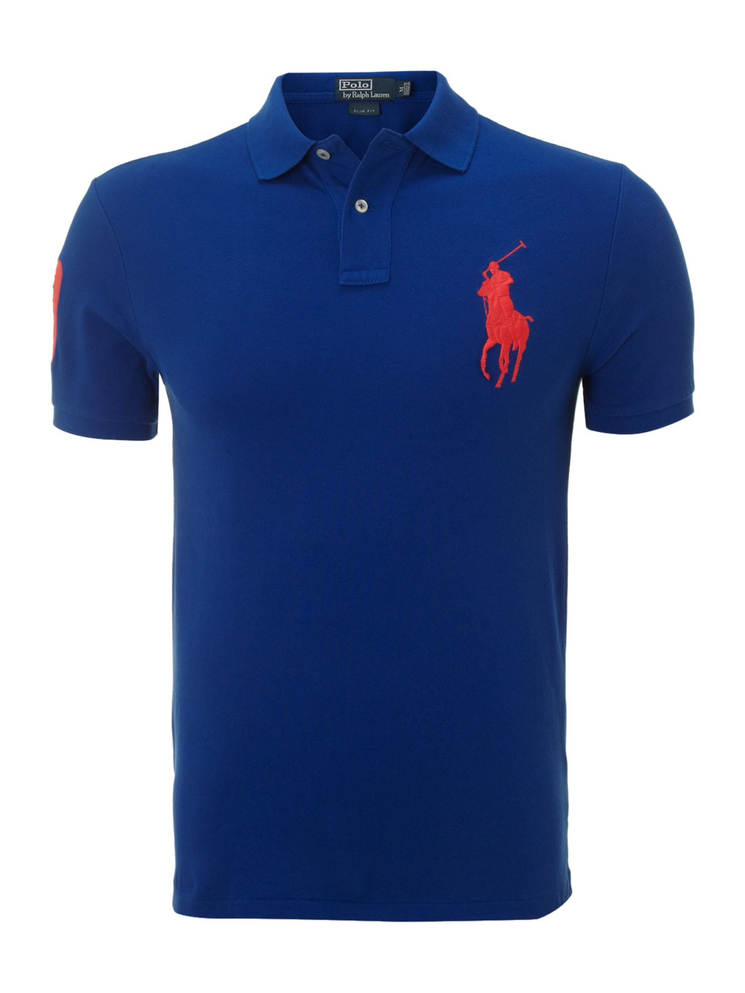 Slim fit big pony polo