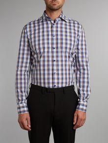 Johnny fit large check shirt