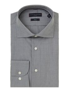 Jake higher collar stand gingham shirt