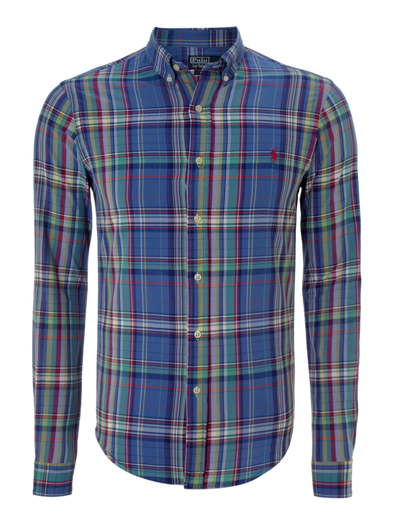 Classic long sleeved checked shirt