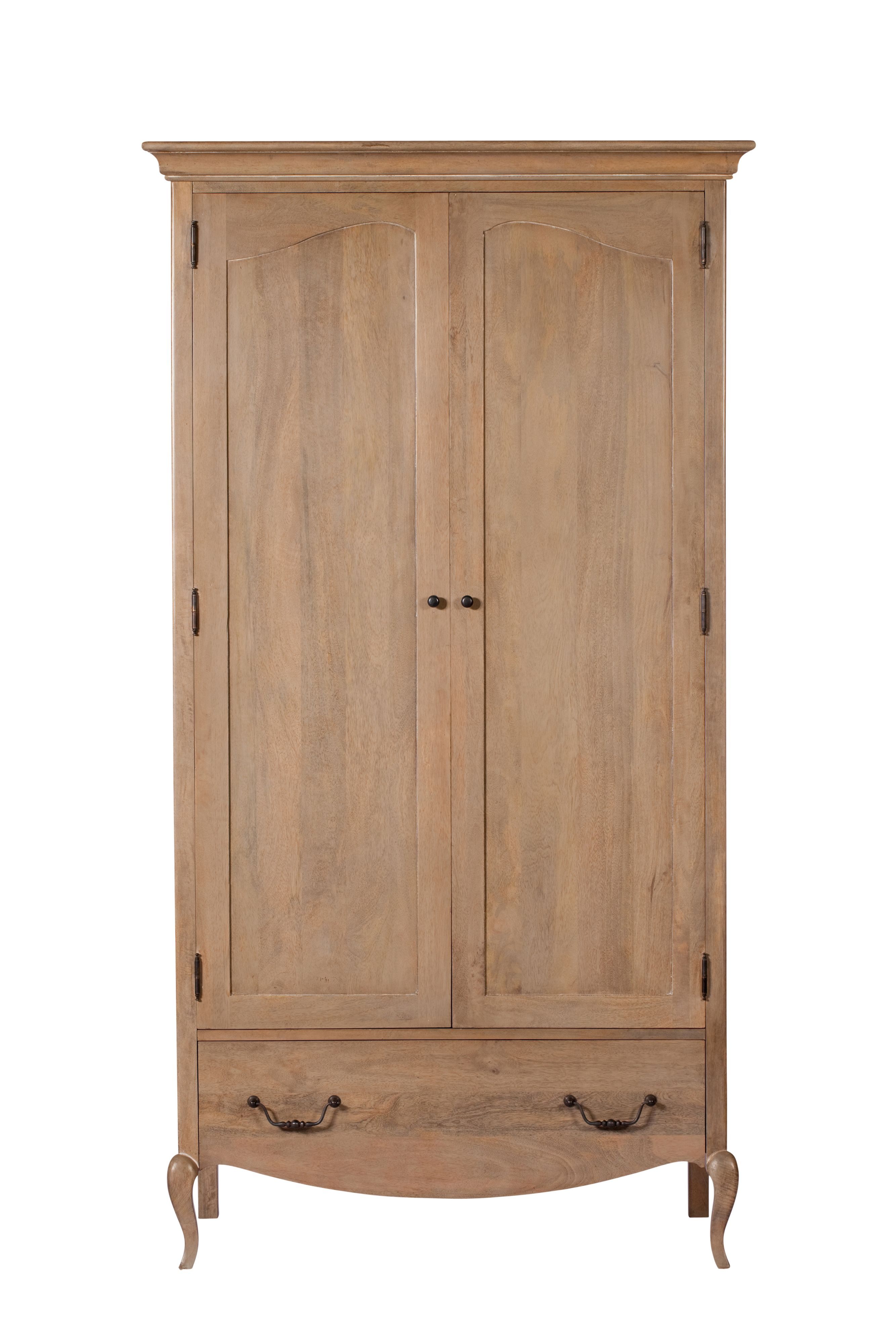 Florence Double Wardrobe With Drawer