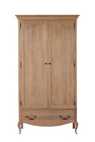 Linea Florence Double Wardrobe With Drawer