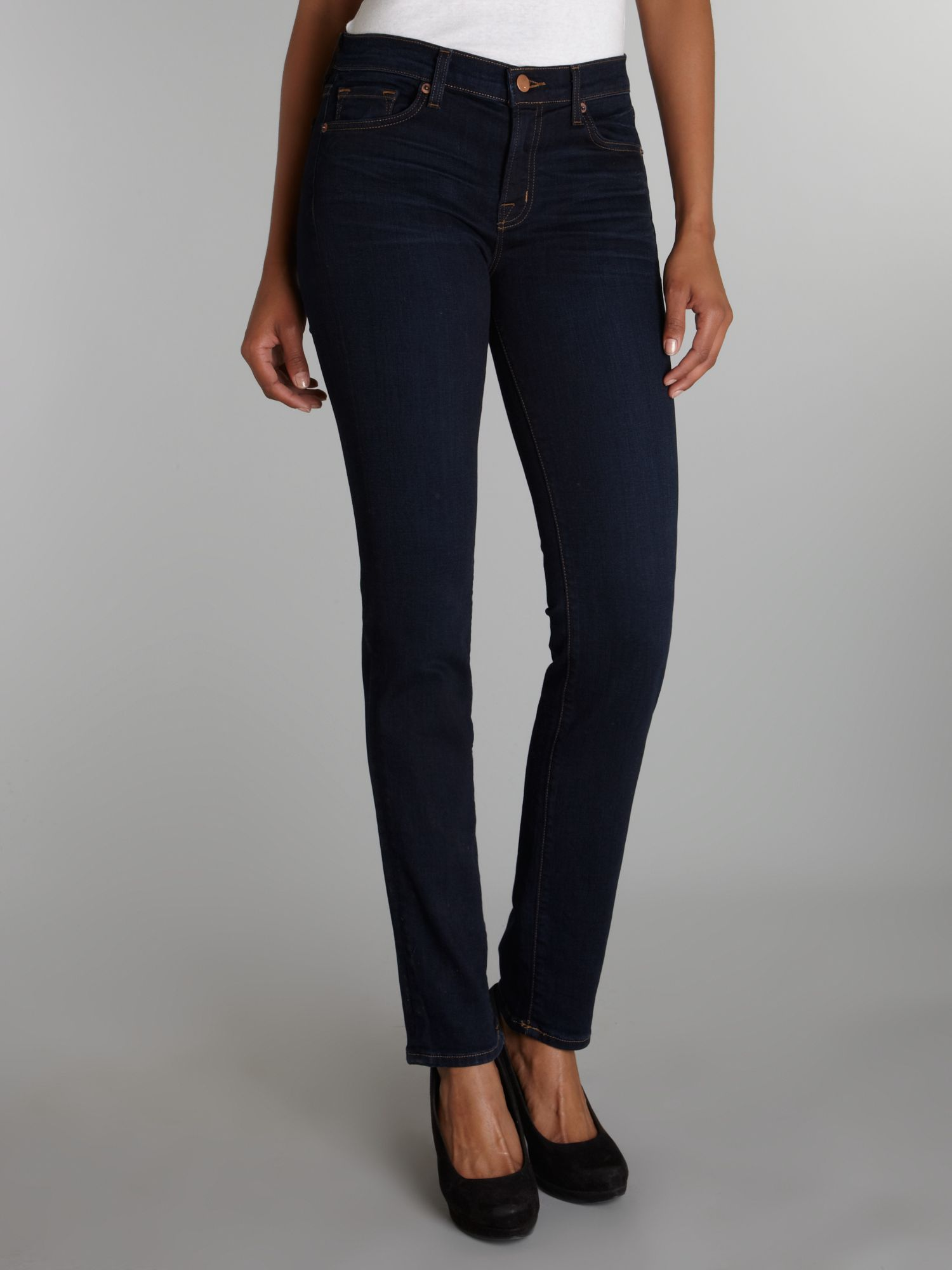 8112 pencil leg jeans in Ignite