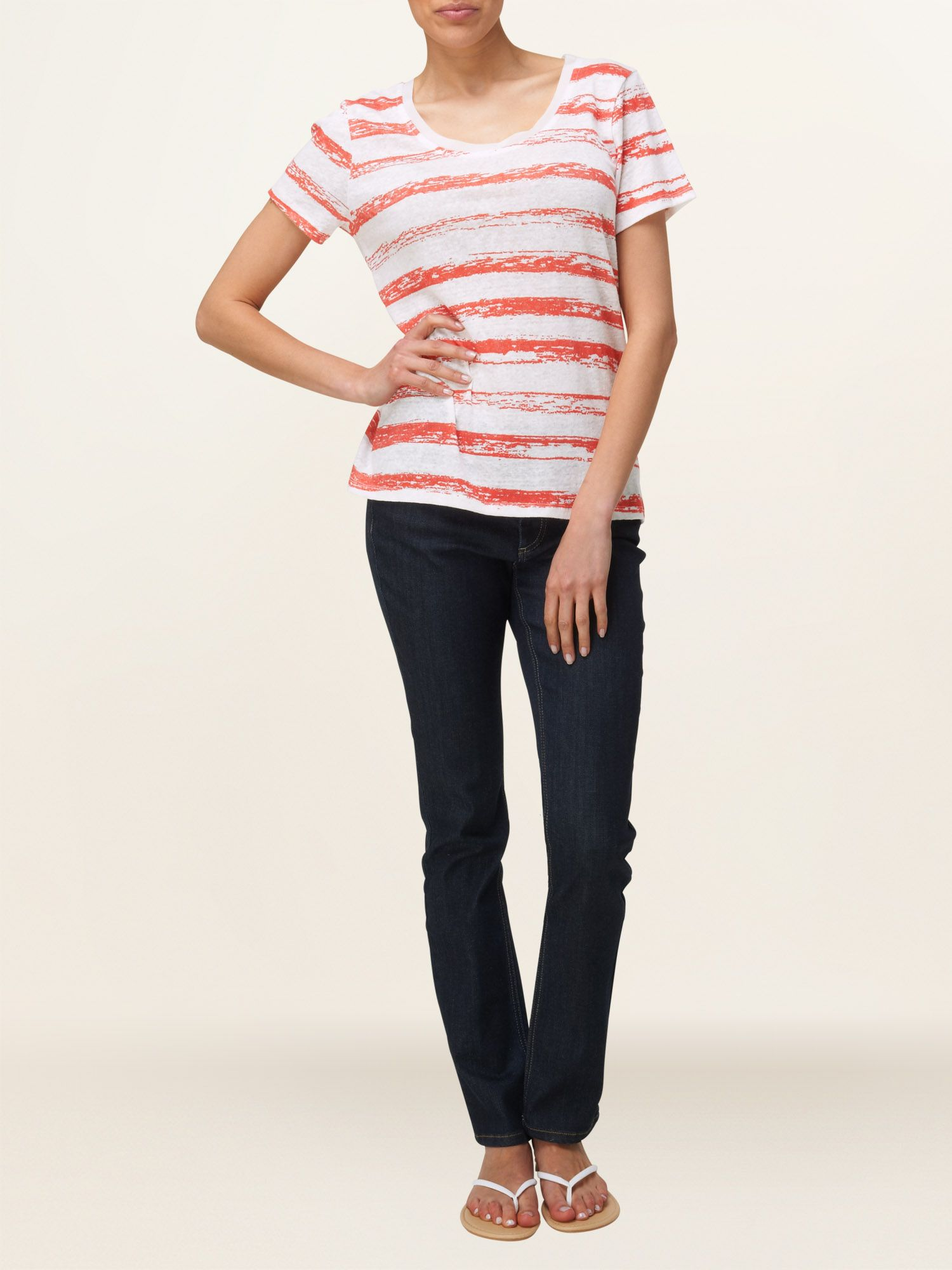 Chalky stripe t-shirt