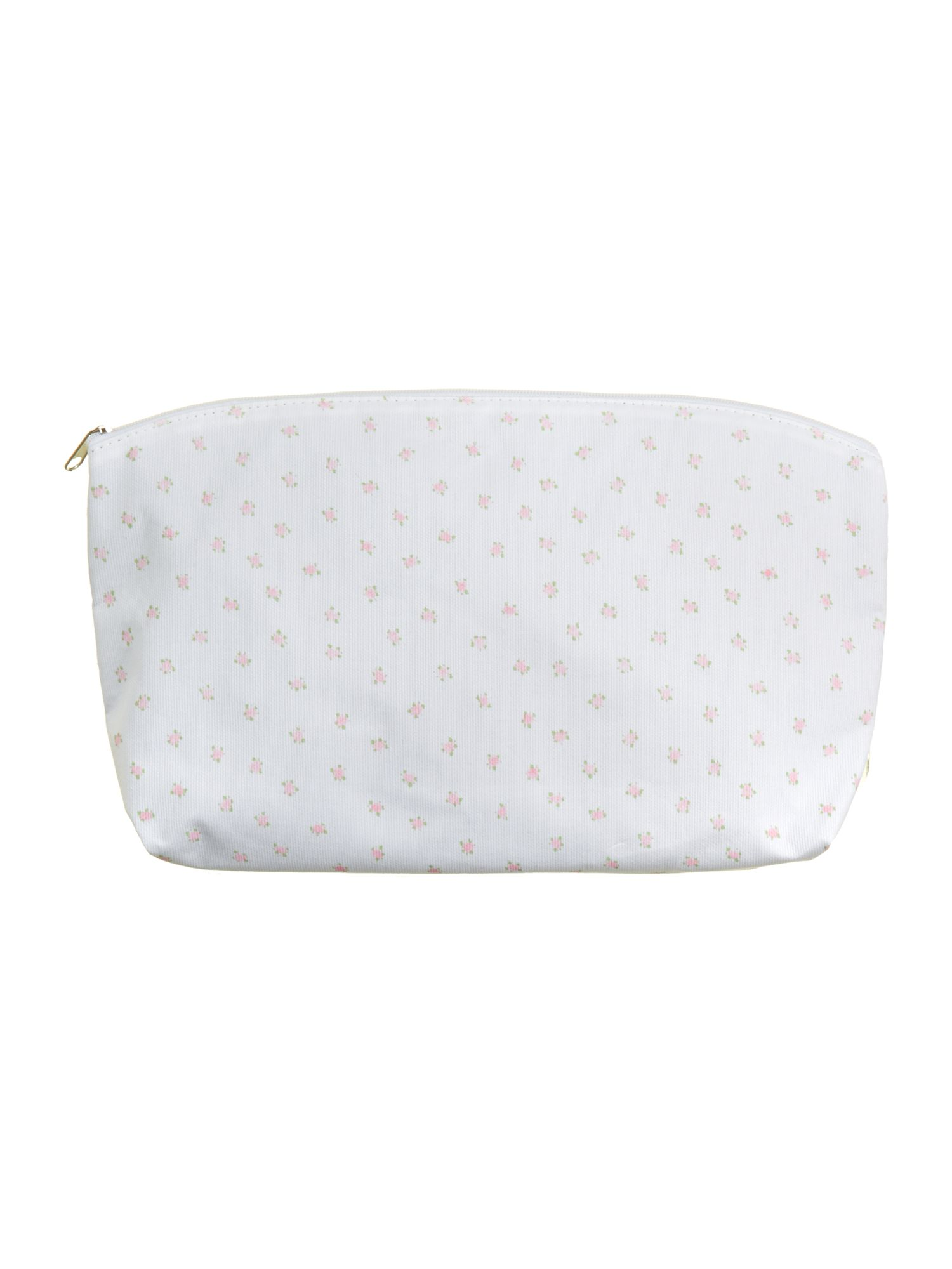 Pretty ditsy floral wash bag