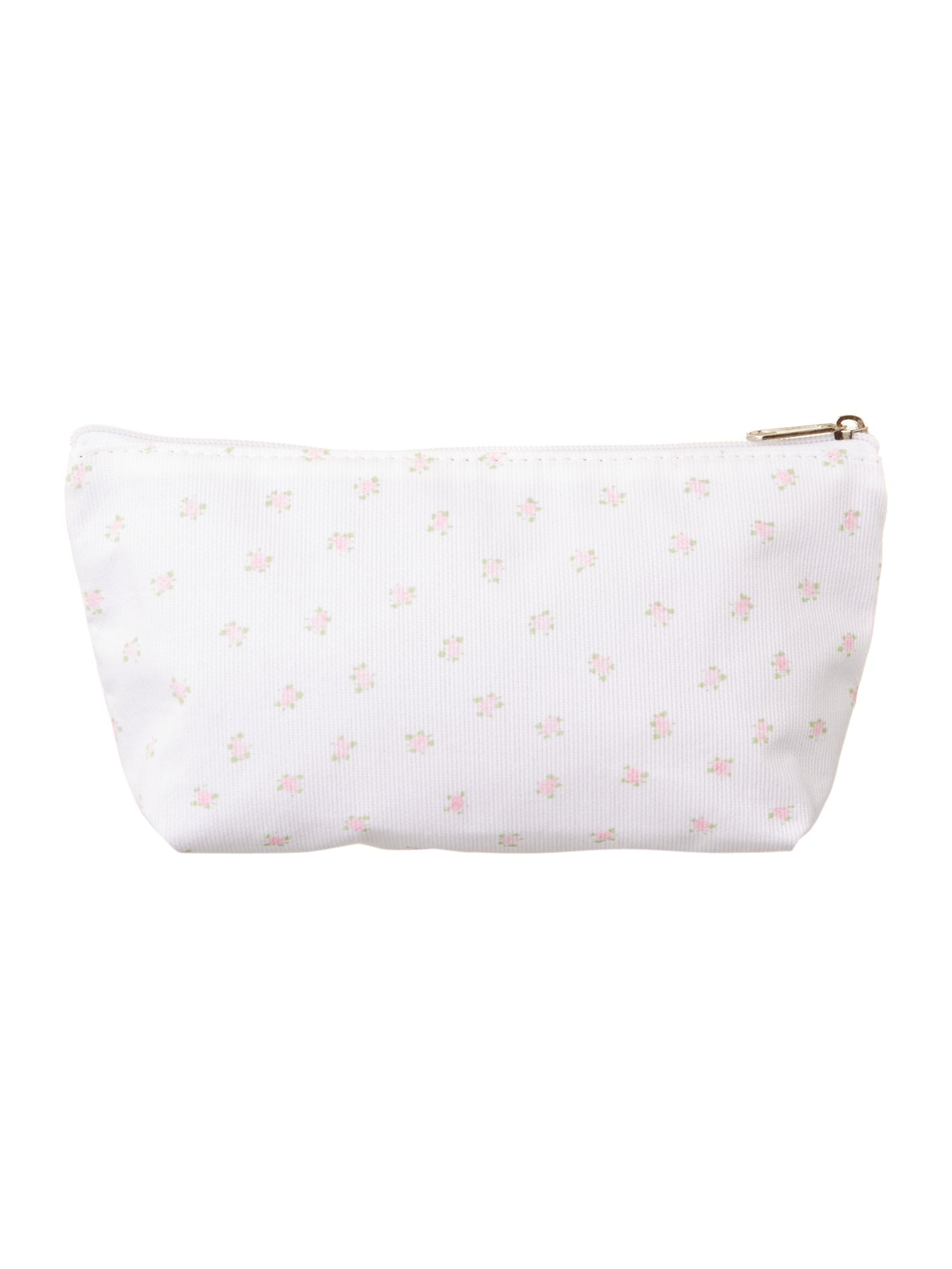 Pretty ditsy floral make-up bag