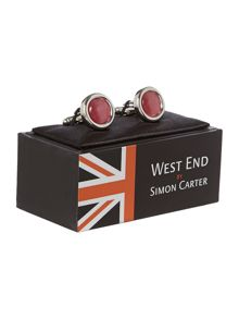 Exclusive to house of fraser catseye cufflinks