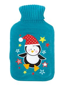 Gwen penguin hot water bottle