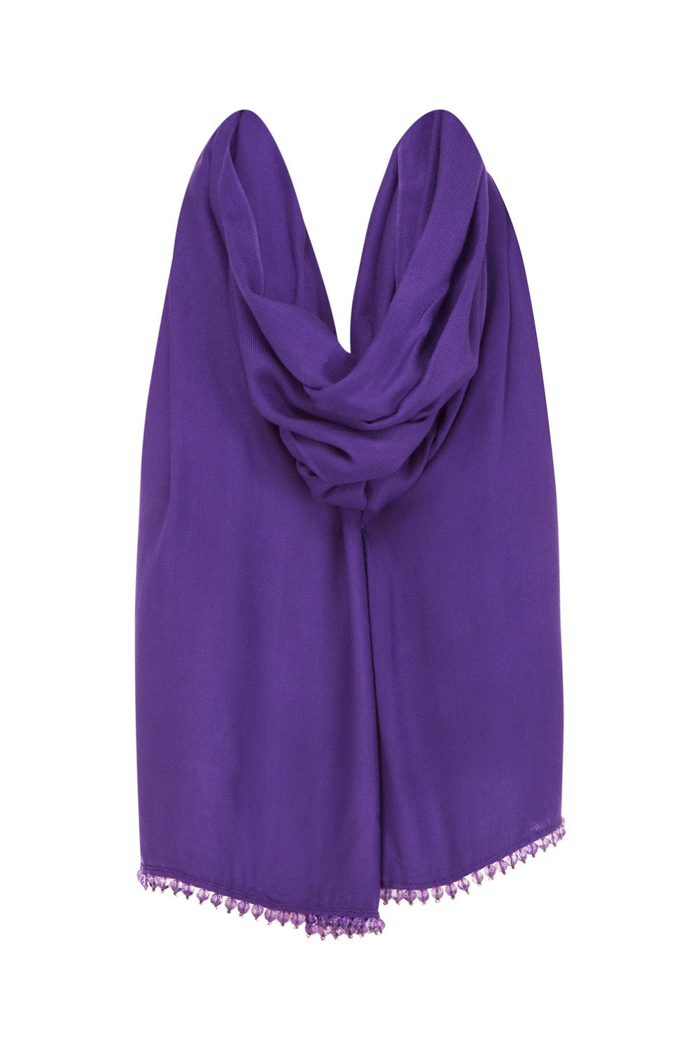 Theresa purple wrap