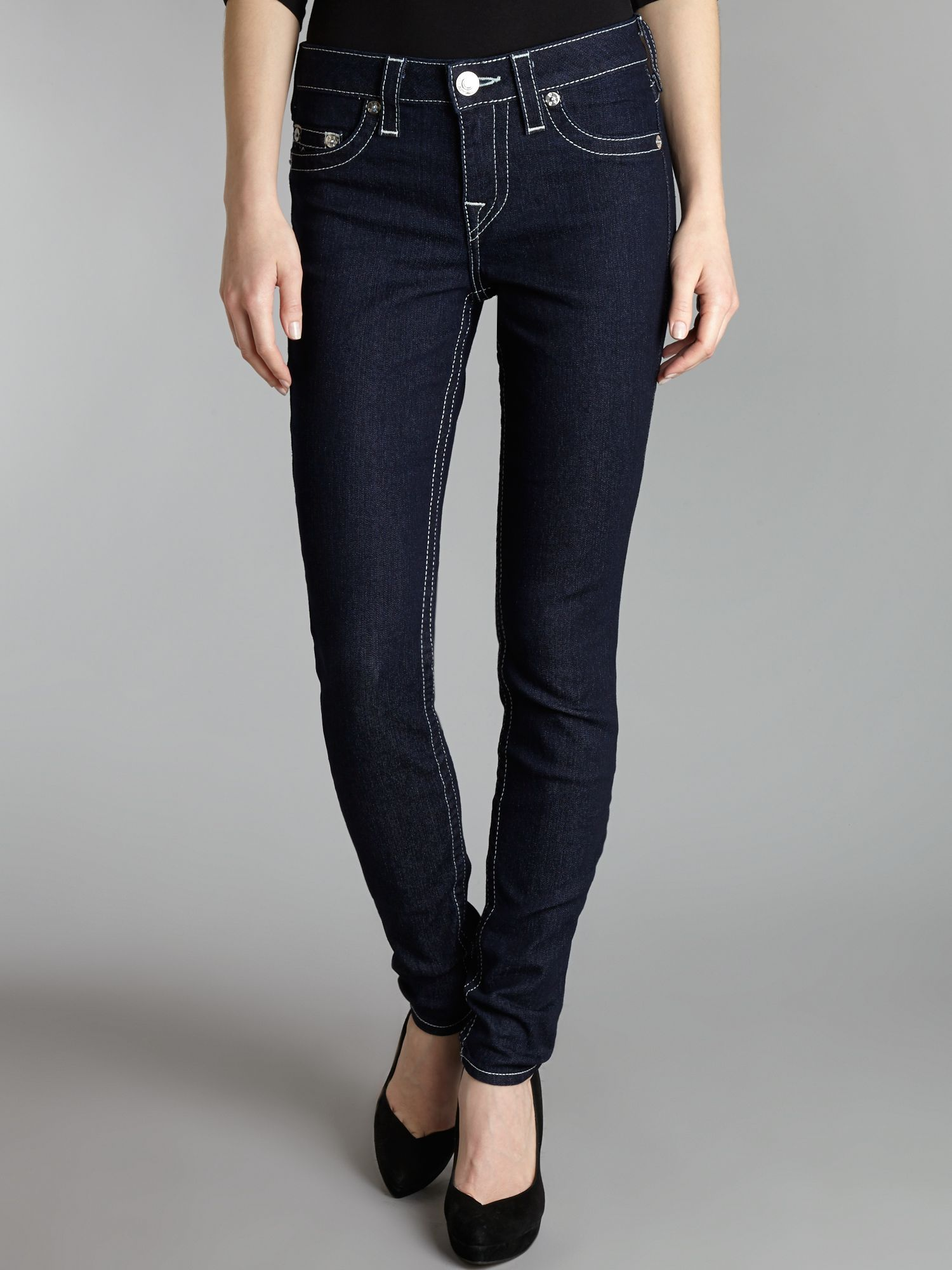 Halle skinny jeggings in Body Rinse