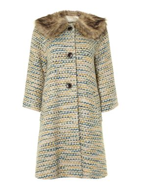 Dickins & Jones Lurex Coat