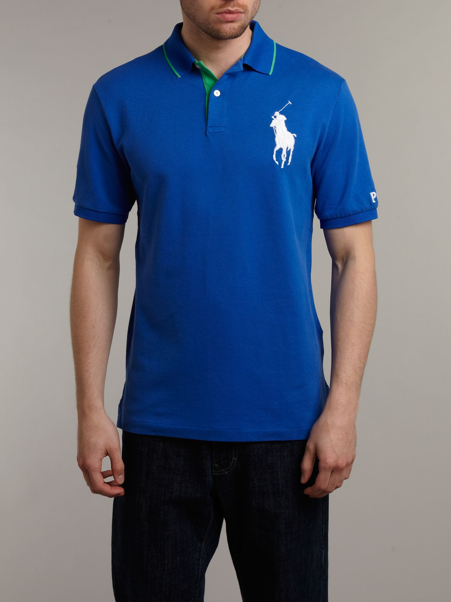 Open classic big pony polo shirt