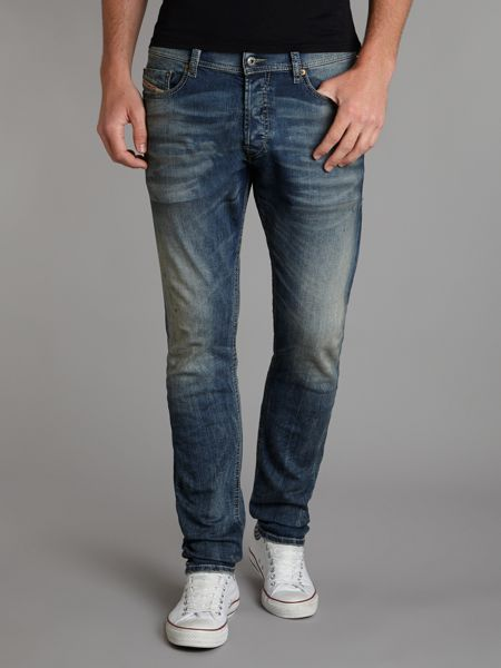 Diesel Tepphar 813W carrot fit jeans  House of Fraser