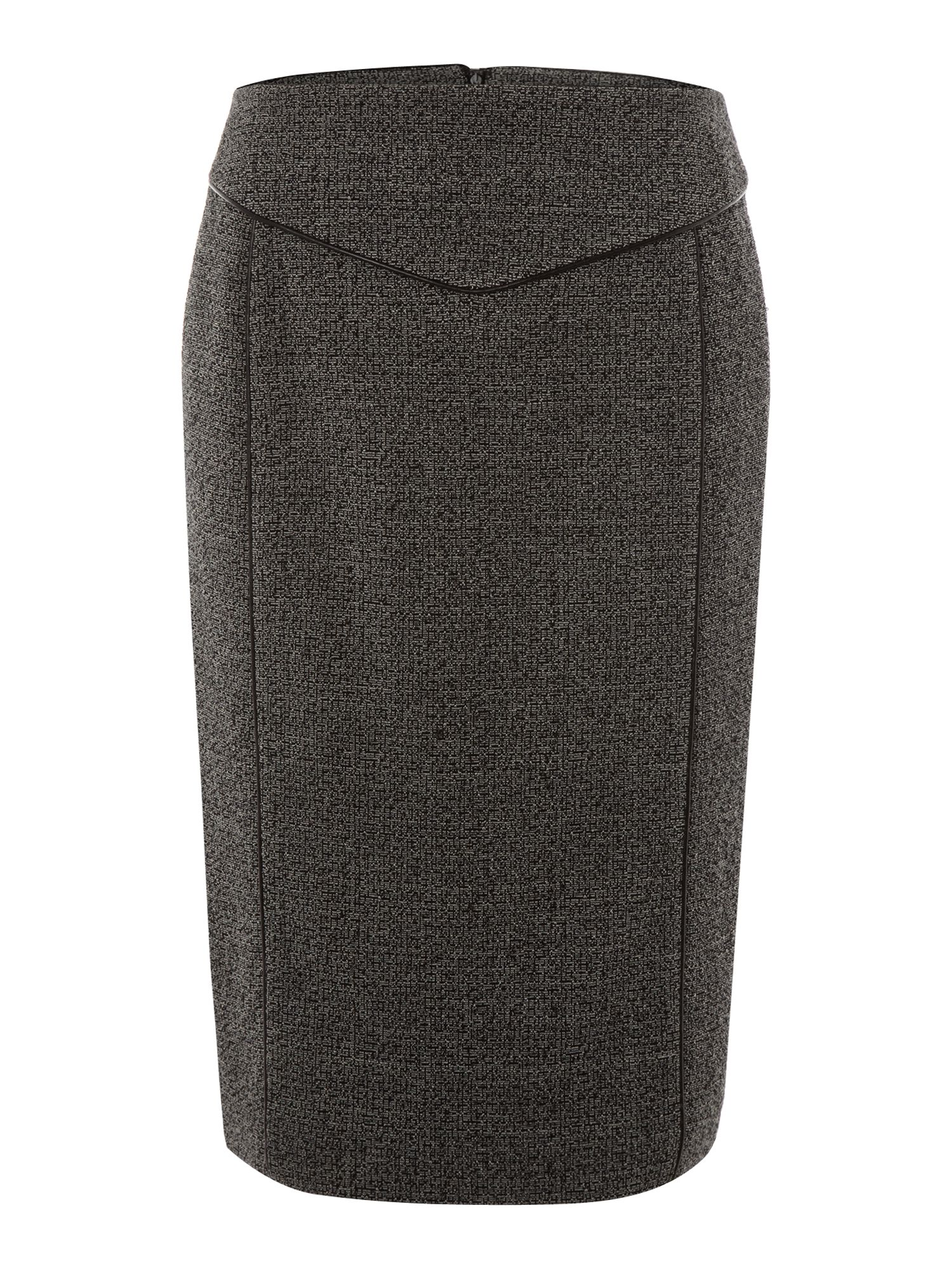 Tweedy ponte skirt