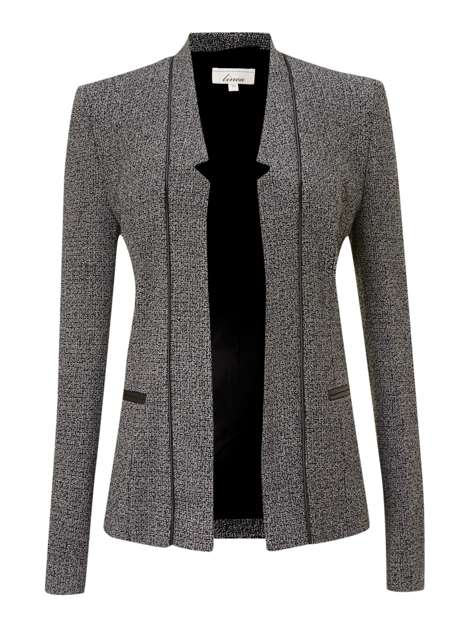 Tweedy ponte jacket
