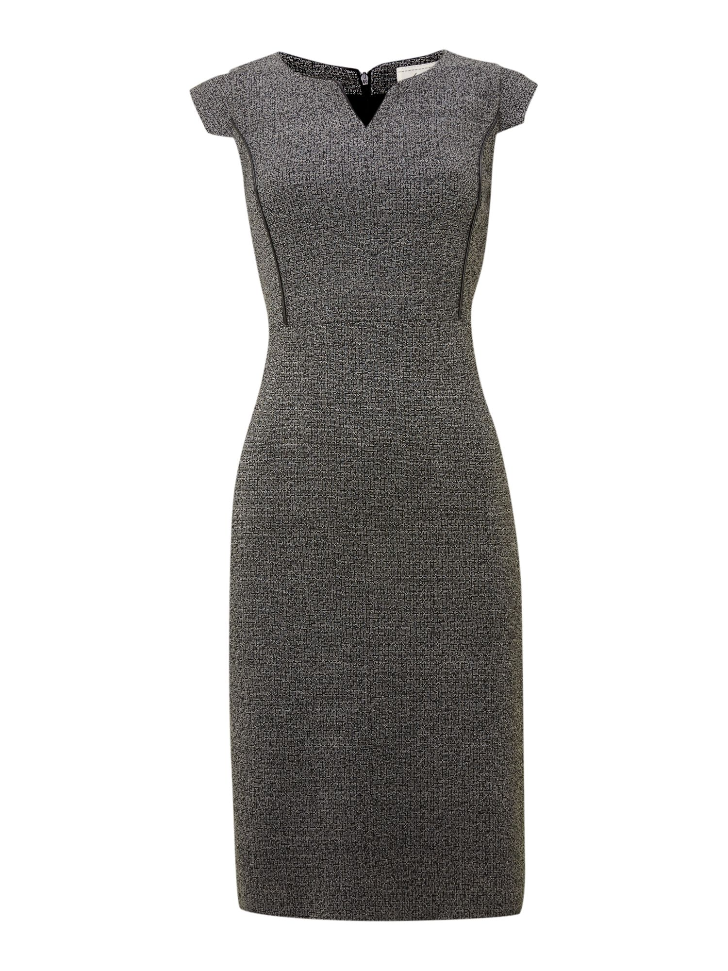 Tweedy ponte dress