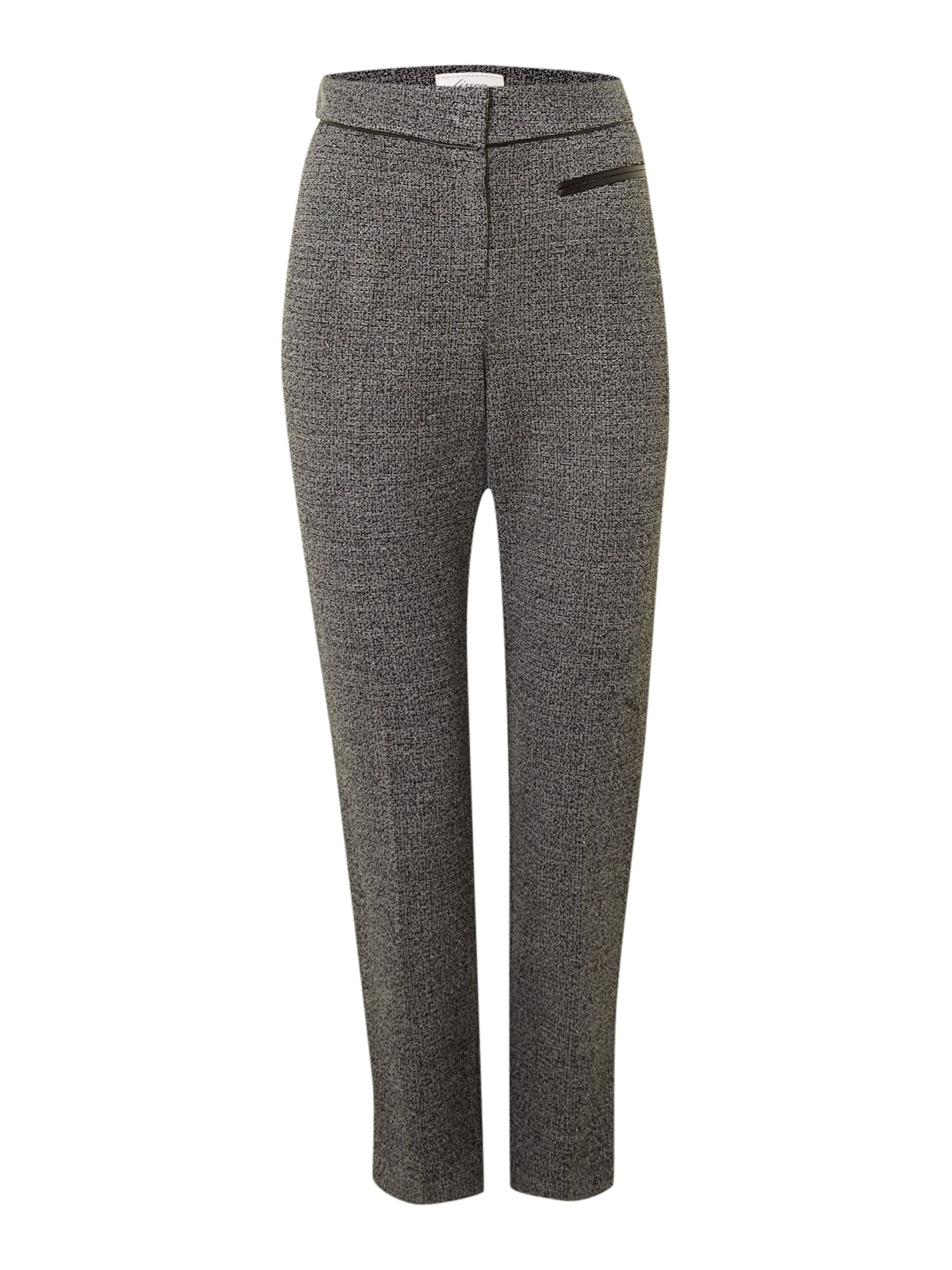 Tweedy ponte trouser