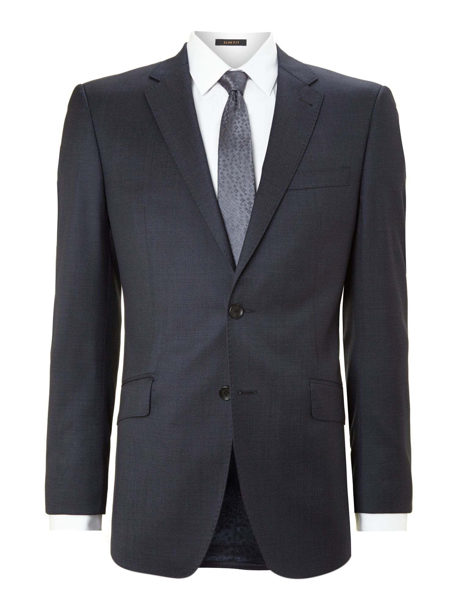 Pindot regular fit suit jacket
