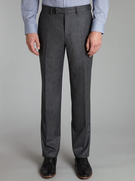 Simon Carter Luxury regular fit flannel trousers