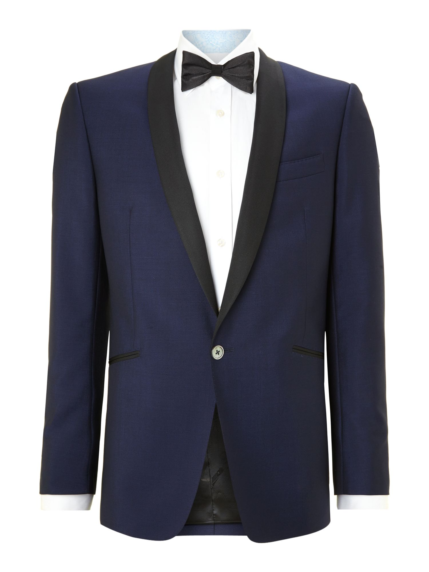 Save for best regular fit wool mohair dinner suit