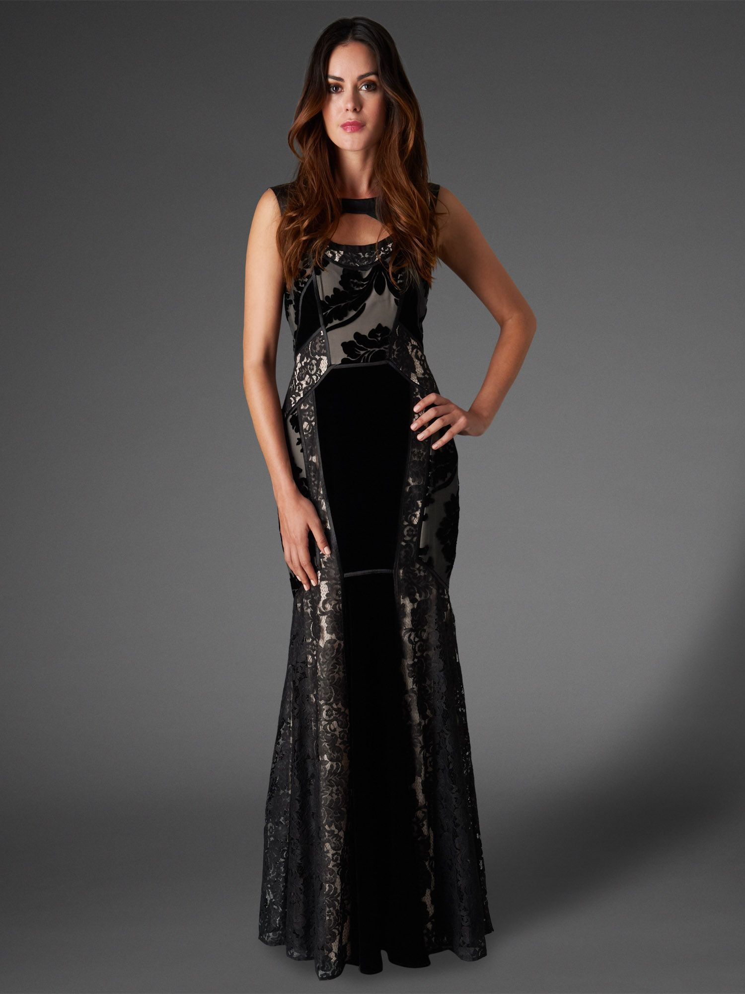 Dulciana full length dress