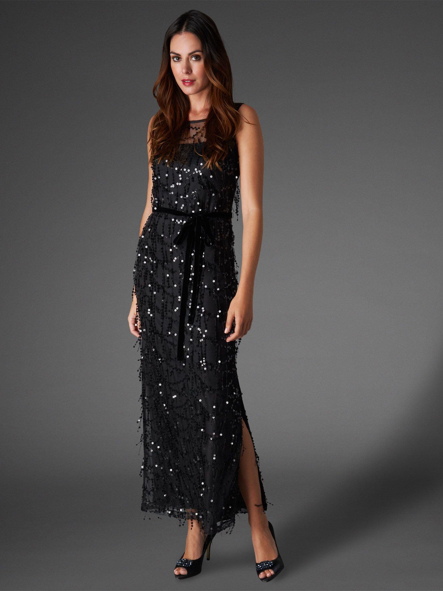 Elecktra sequin full length dress