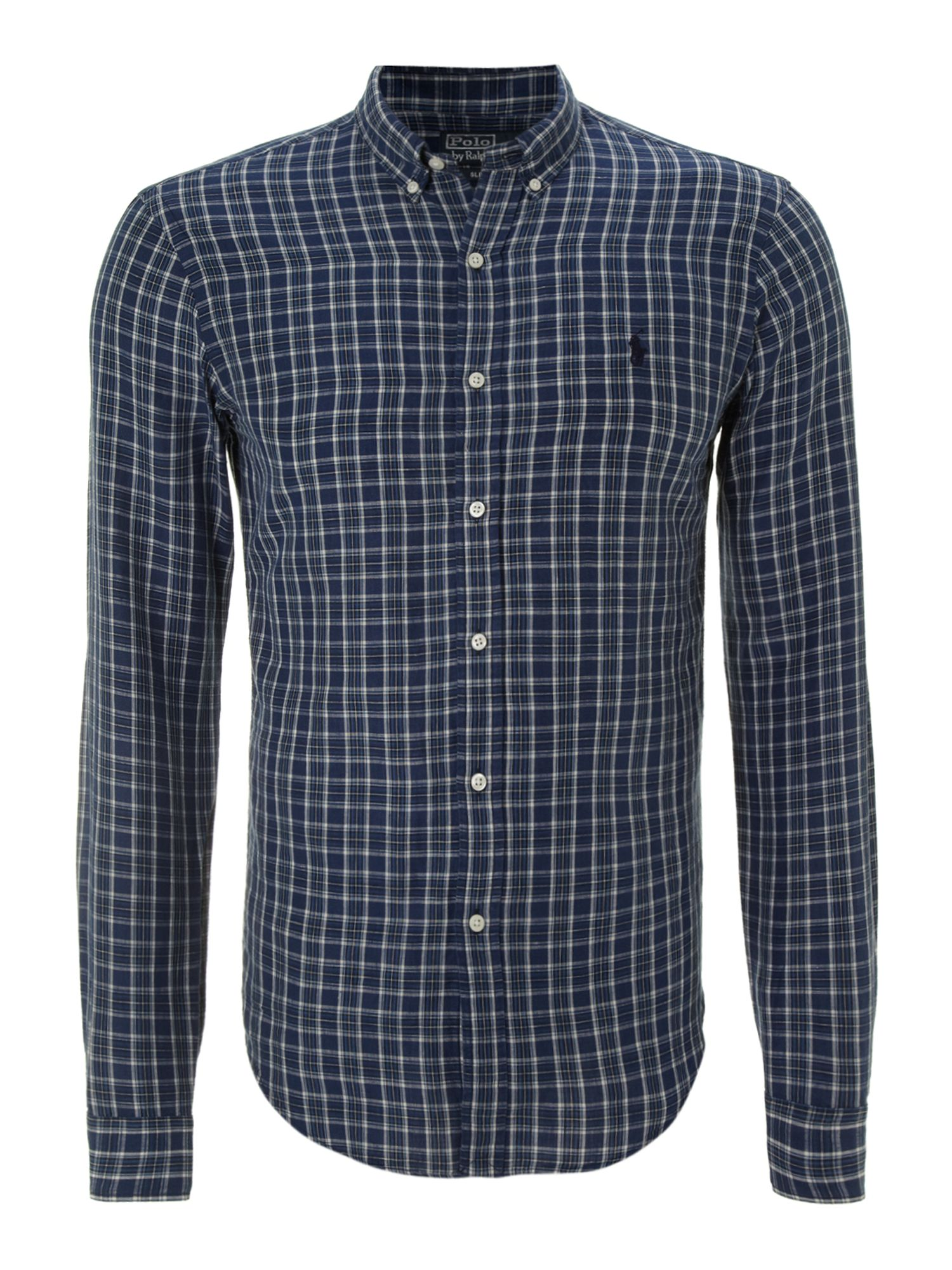 Classic long sleeved slim fit shirt