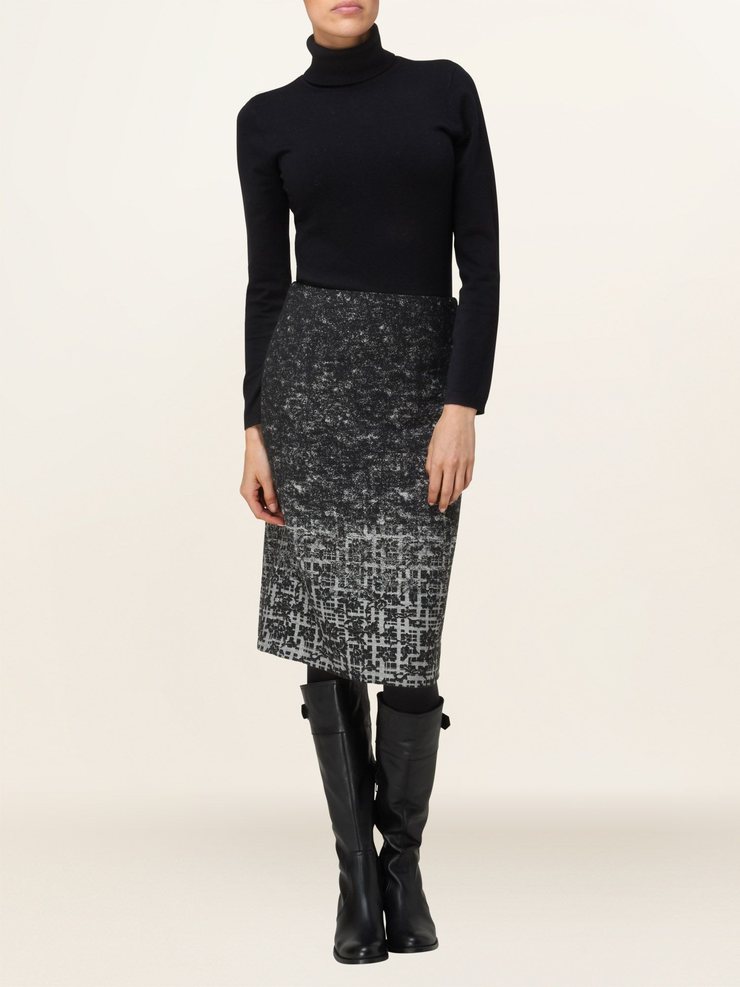 Lisette tweed skirt