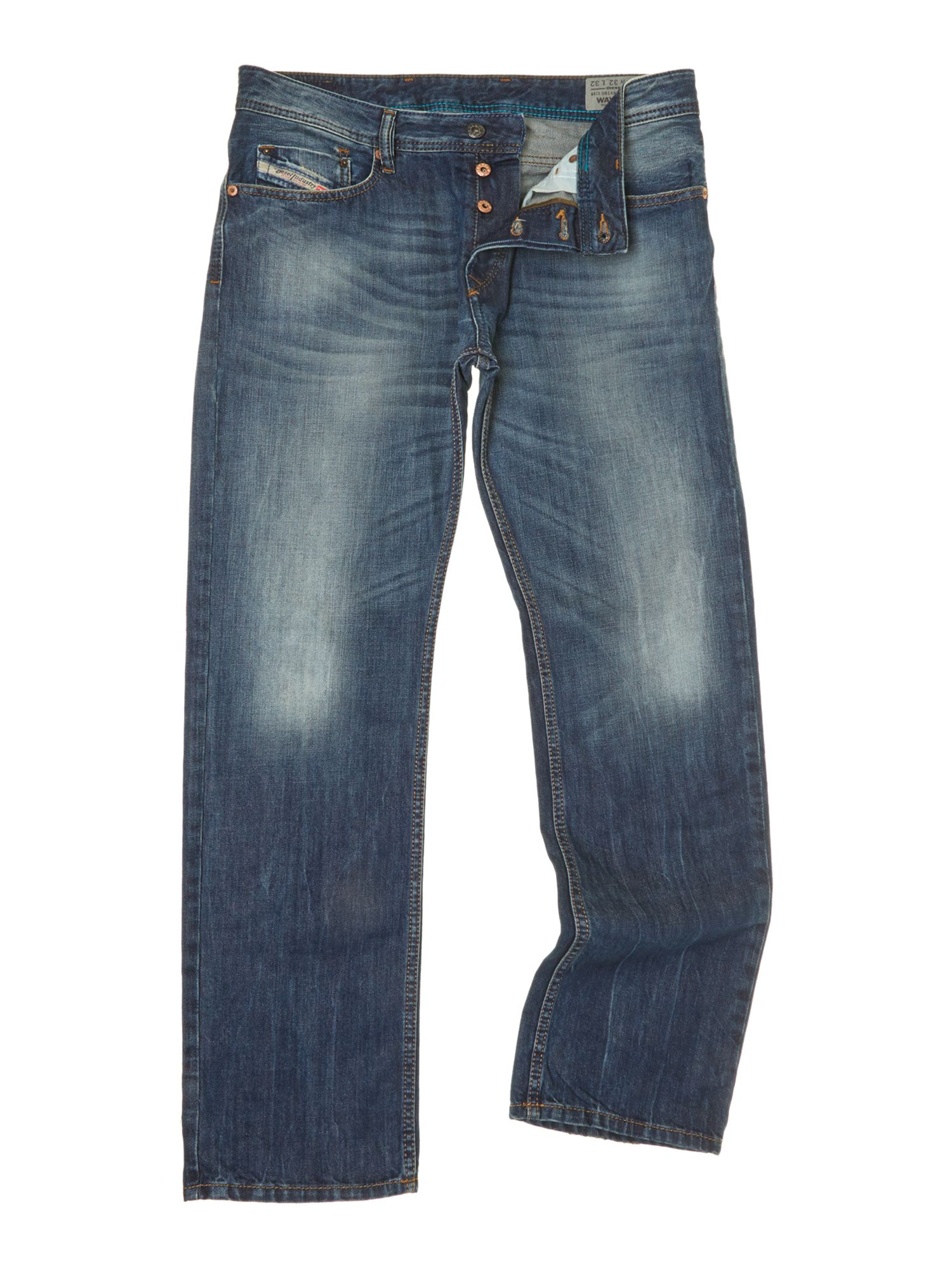 Waykee 814A tapered fit jeans