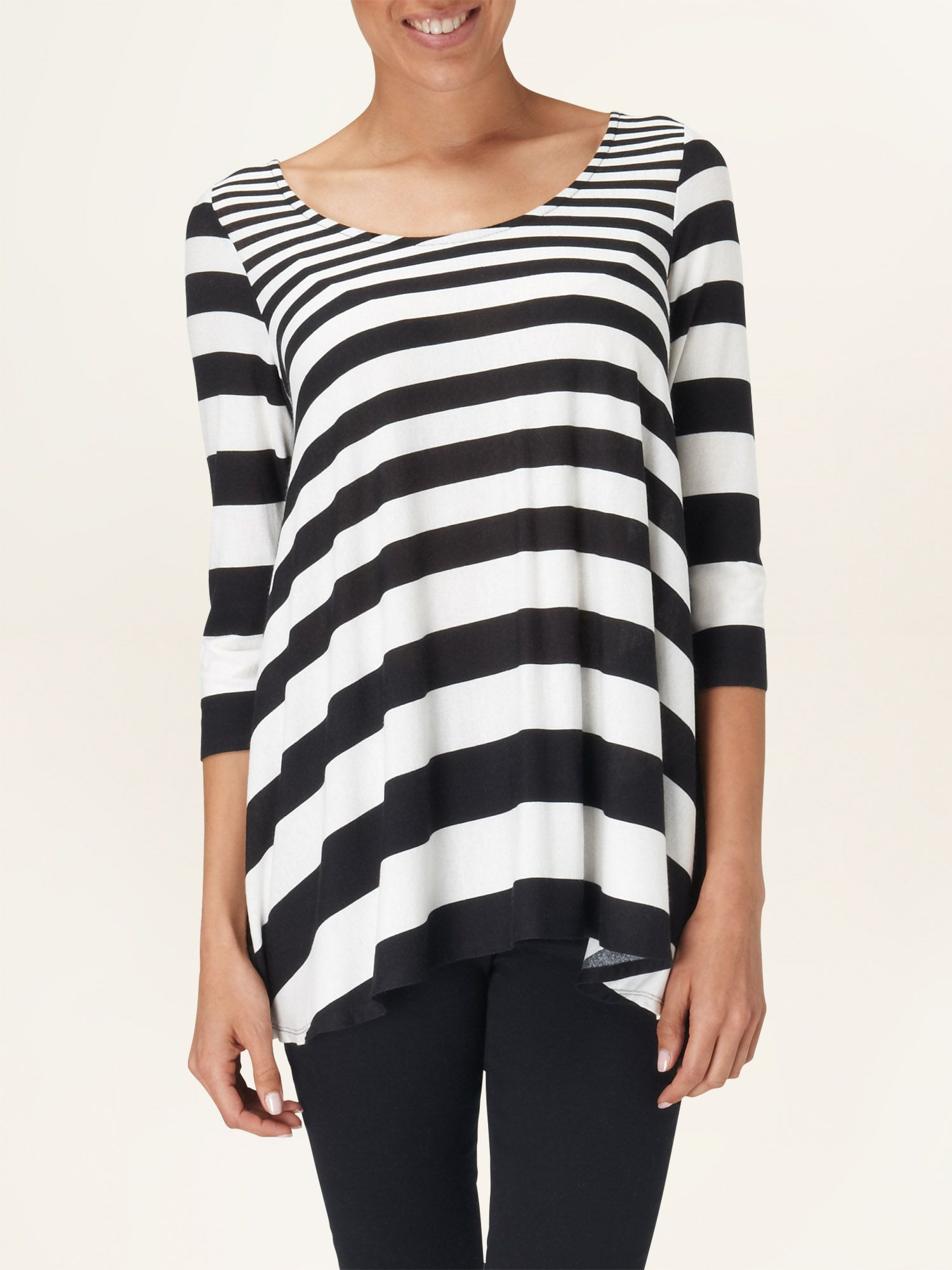 Stripe swing top